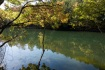 菖蒲谷池に到着。