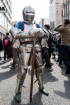 金属製の甲冑な人。こういうのって自作…