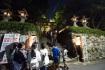 箕面は夜の西江寺へとやってきました。…