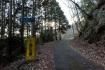 小塩山のほぼ頂上まで車道は続いていま…