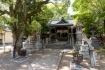 住吉神社の狛犬は丸い顔をしていました…